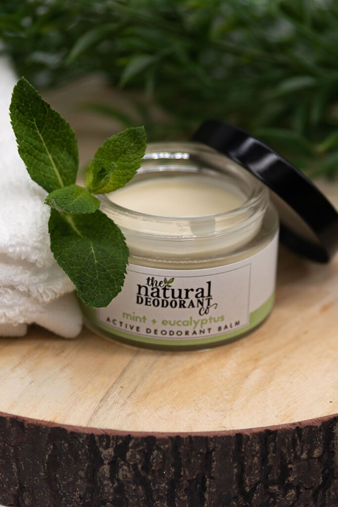 Active - mint and eucalyptus Natural Deodorant view main view