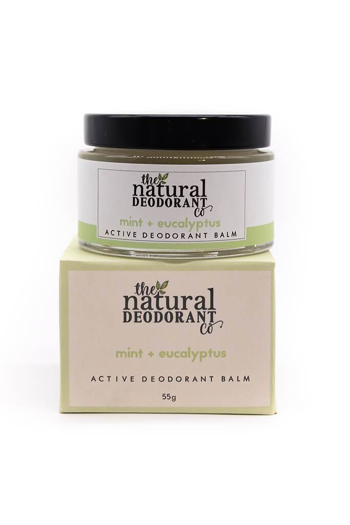Active - mint and eucalyptus Natural Deodorant view 2