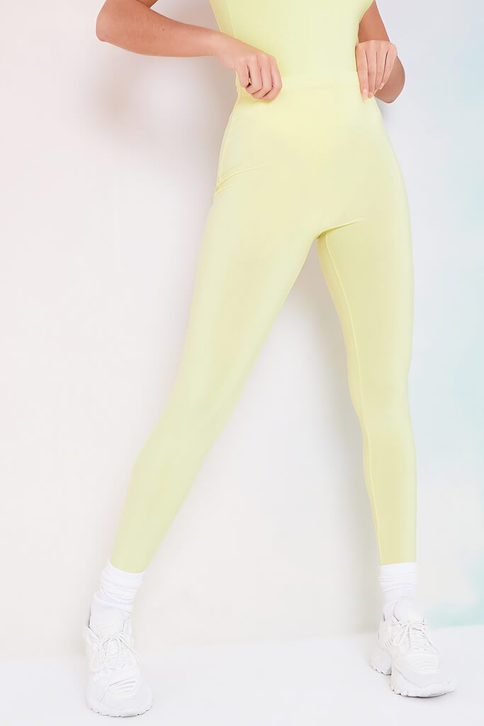 Lemon Slinky Leggings view 2