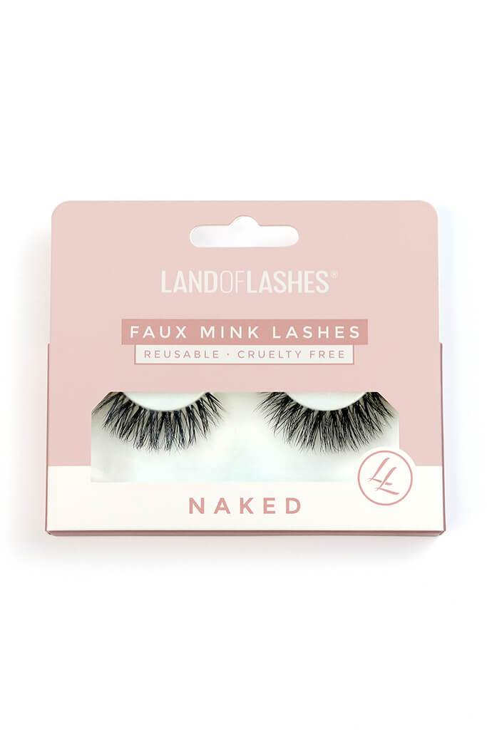 LAND OF LASHES FAUX MINK CRUELTY FREE LASHES NAKED COLLECTION #6 view 2