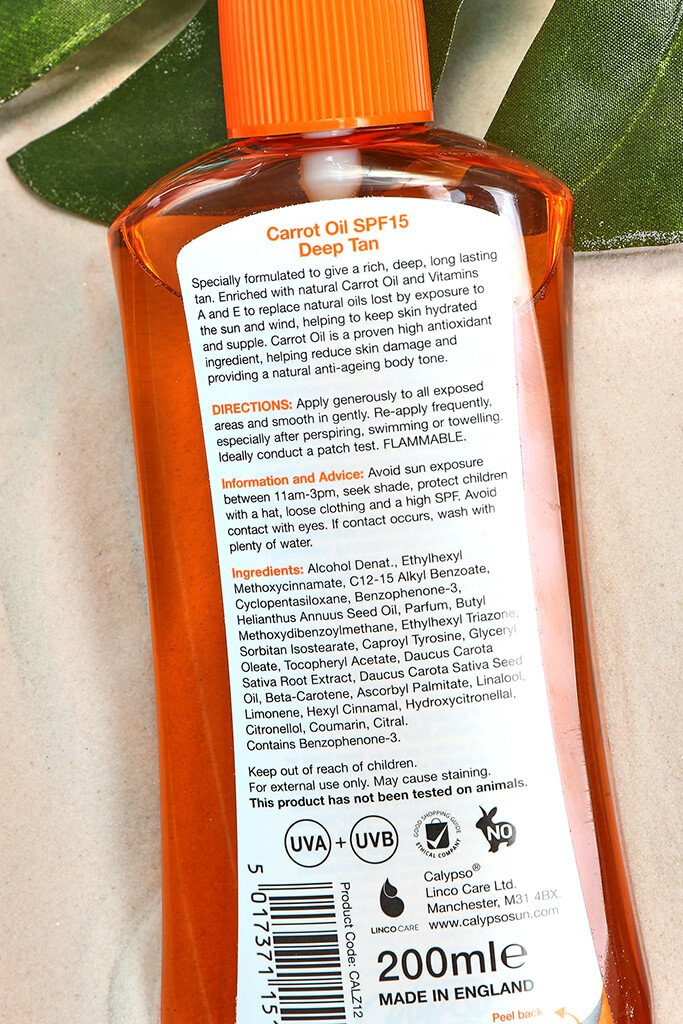 CARROT OIL WITH TAN EXTENDER SPRAY SPF15 200ML view 2