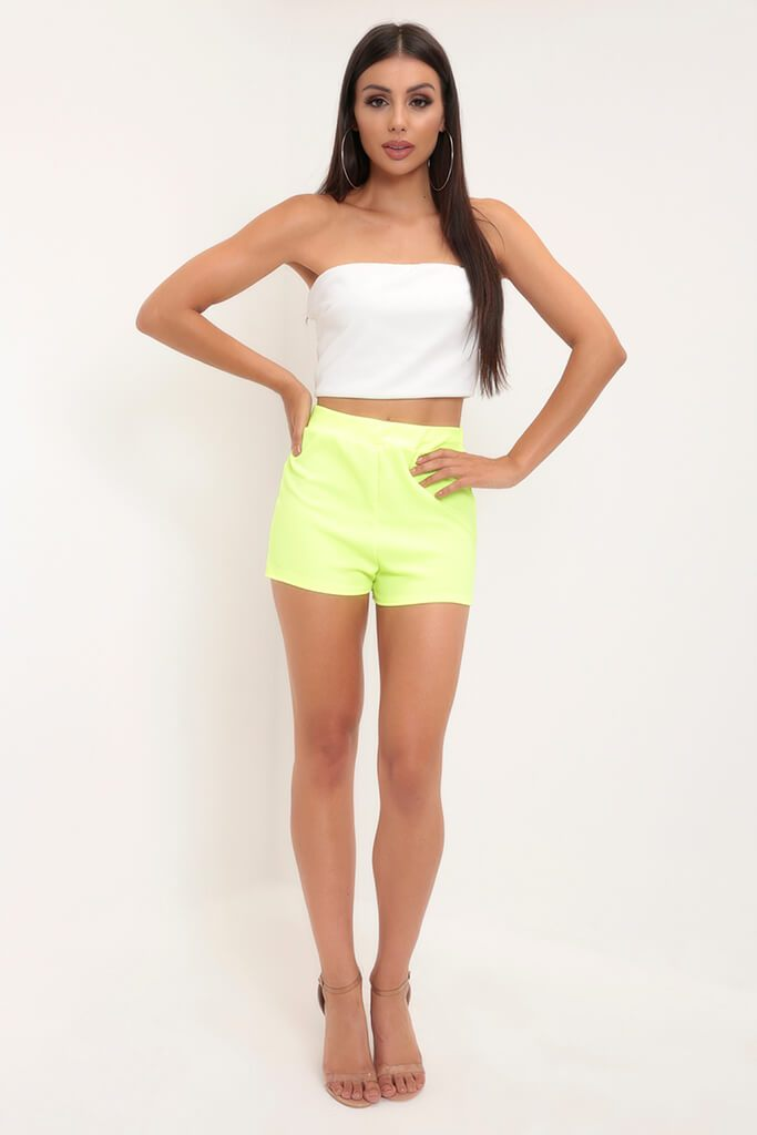 Lemon High Waisted Shorts