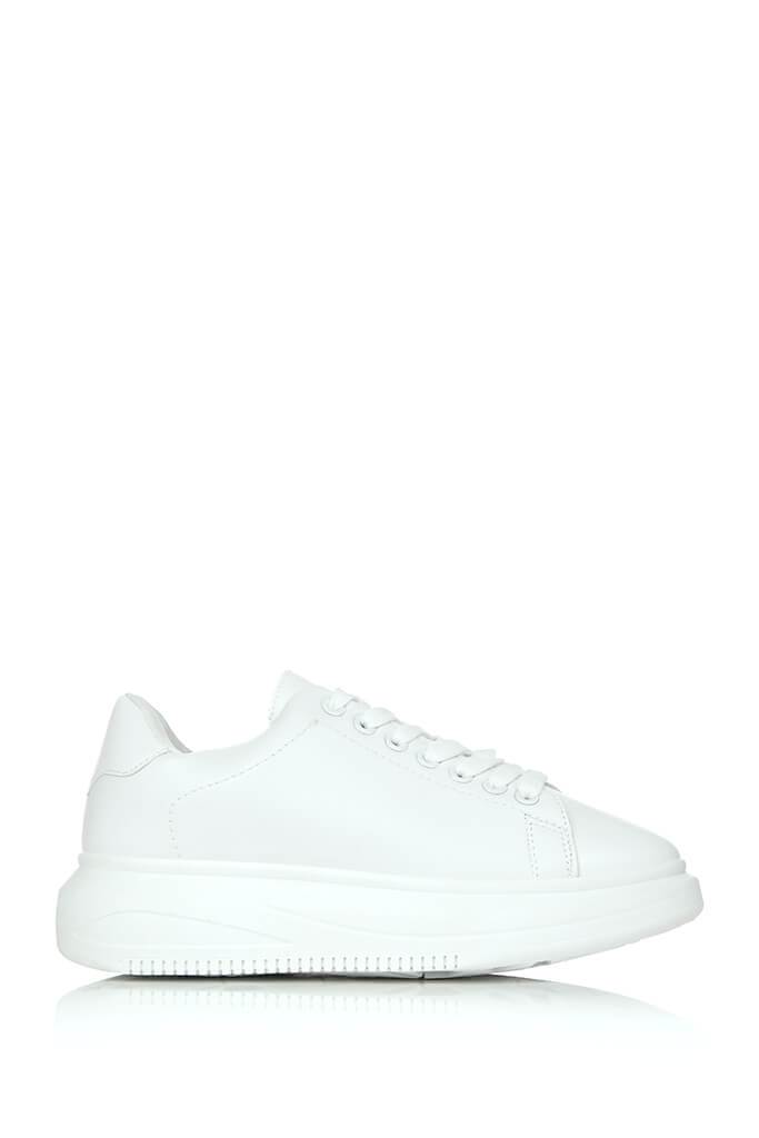 White Basic Platform Trainers view 3
