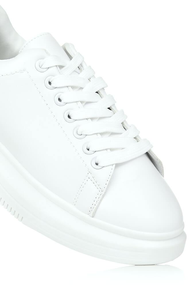 White Basic Platform Trainers view 4