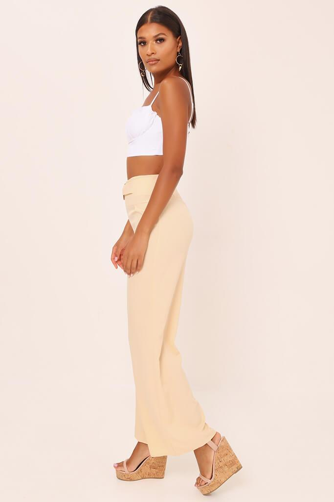 Nude Tailored O Ring Wide Leg Trousers view 3
