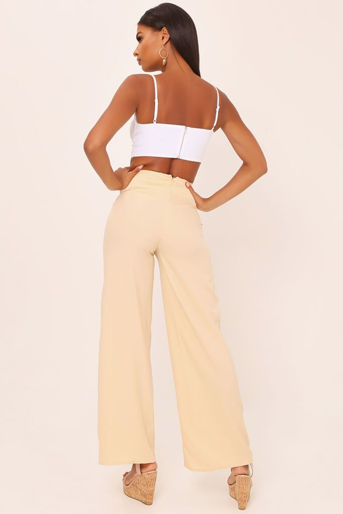 Nude Tailored O Ring Wide Leg Trousers view 5