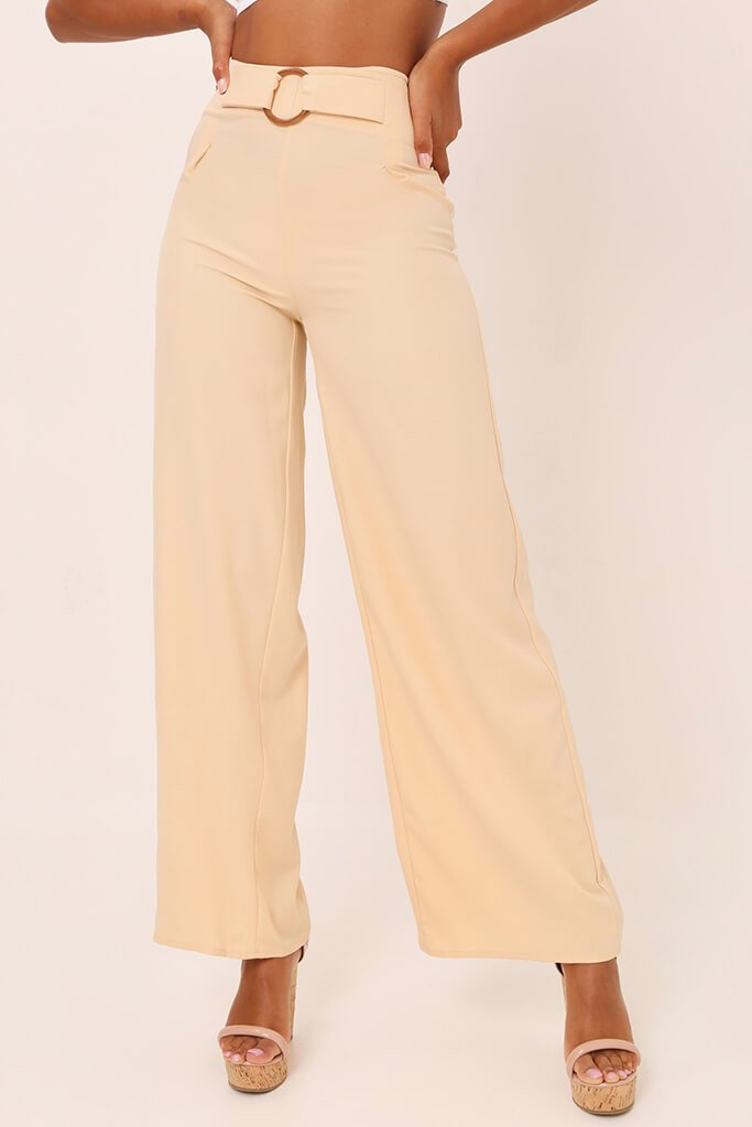 Nude Tailored O Ring Wide Leg Trousers view 2