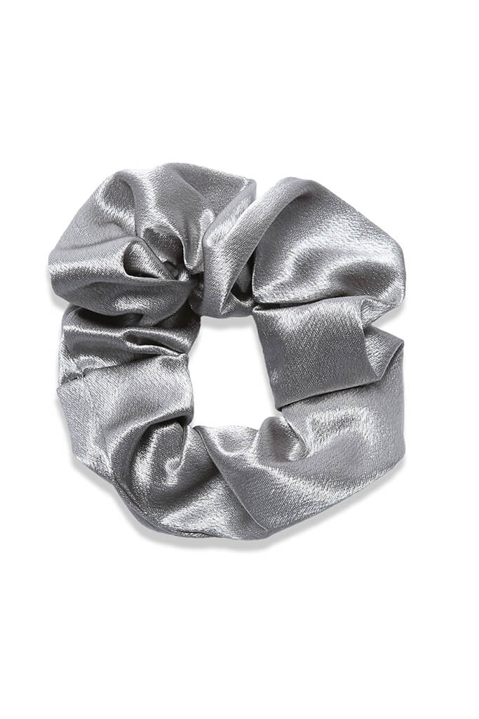 Multi 3 Pack Satin Scrunchies view 4