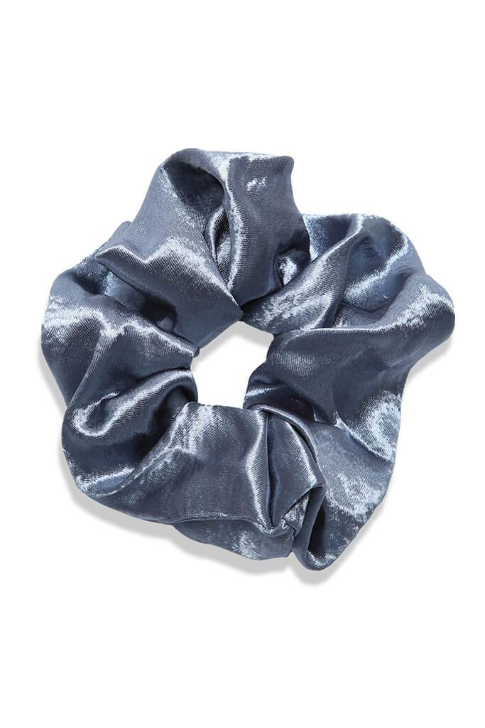 Multi 4 Pack Hammered Satin Scrunchies view 5