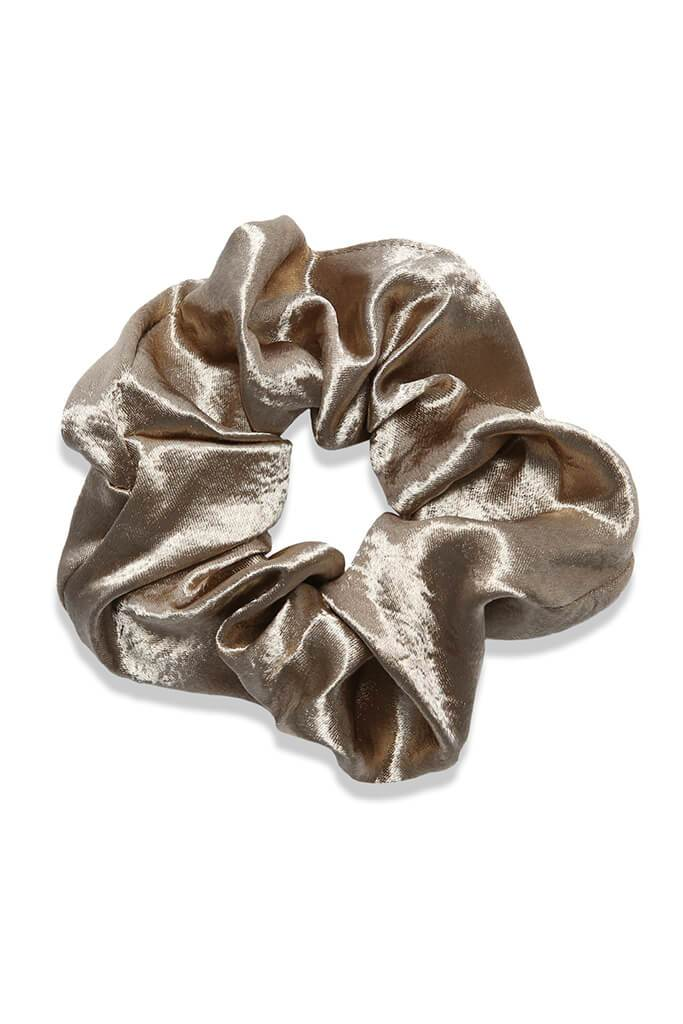 Multi 4 Pack Hammered Satin Scrunchies view 4