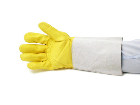 FINE HIDE YELLOW TIG GLOVES