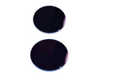 50mm ROUND LENS SHADE BLUE (PAIR)