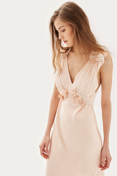 TopShop Applique Maxi Wedding Dress