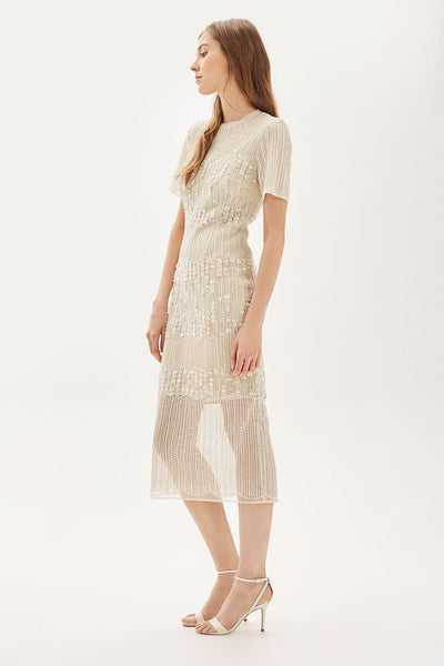 TopShop Midi Embellished Wedding Dress