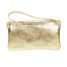 Gold handbag for bridesmaid