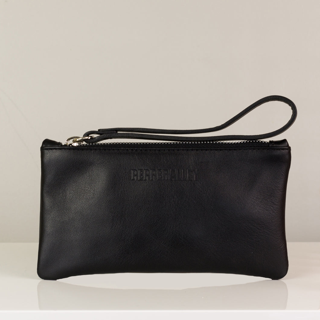 Black small Clutch bag for your wedding day