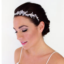 Stella Pearl and Silver head band on model