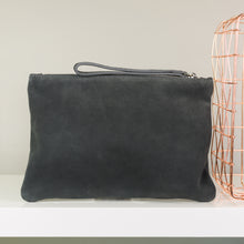 Charcoal Clutch Bag for your wedding day essentials