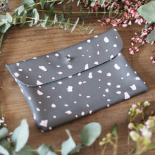 Hand screen printed Clutch bag for your bridesmaid thank you gift