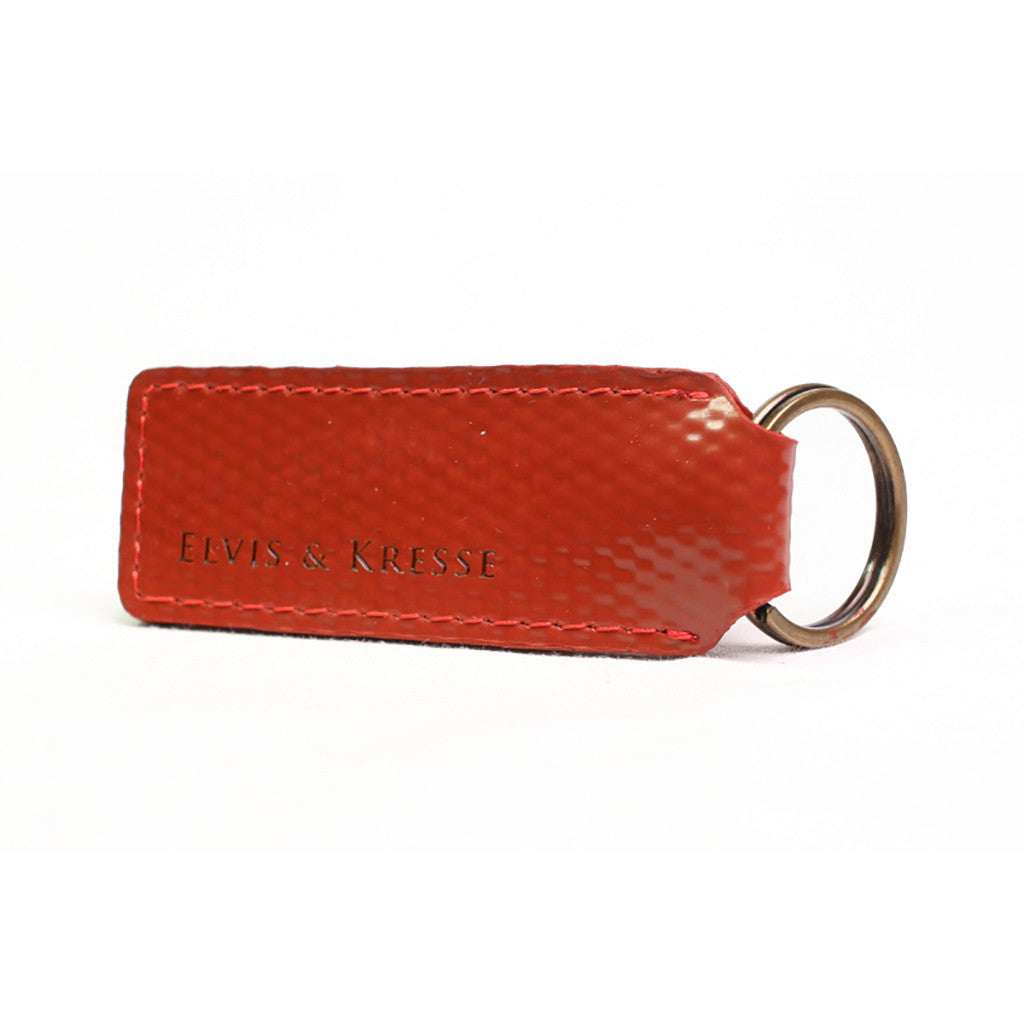 Keyring in red