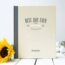 Best Day Ever Wedding Guest Book