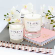 Scented candle wedding favours