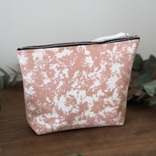 Pink Zip Bag for wedding essentials