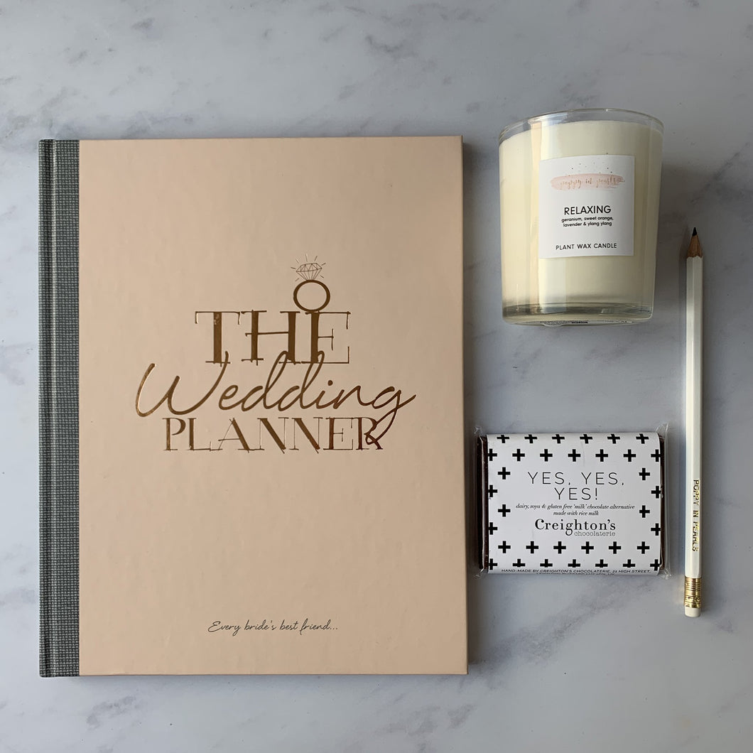 wedding planning gift set