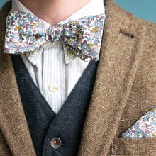 Wilson Liberty Print Bow Tie and Pocket Square for your wedding