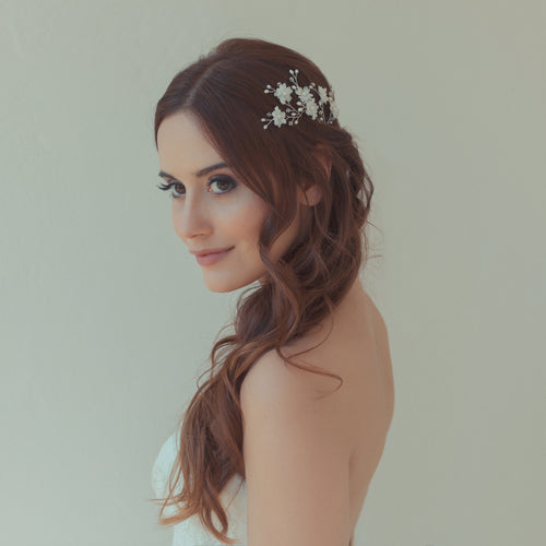 Beautiful Cherry Blossom Hair Pins for the Bride