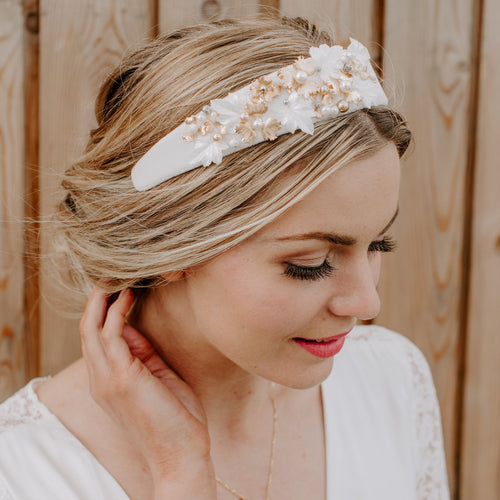Bridal Head Band decorated