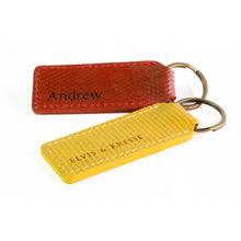 Red and Yellow Key ring