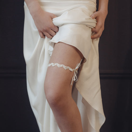 Delicate Lace Wedding Garter