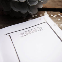 Wedding guest book by Illustrious