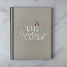 grey wedding planner notebook journal gift