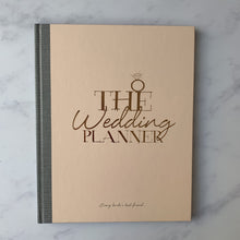 Pink wedding planning notebook journal gift