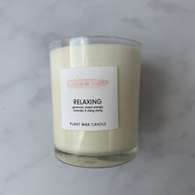 Relax candle for calm wedding planning