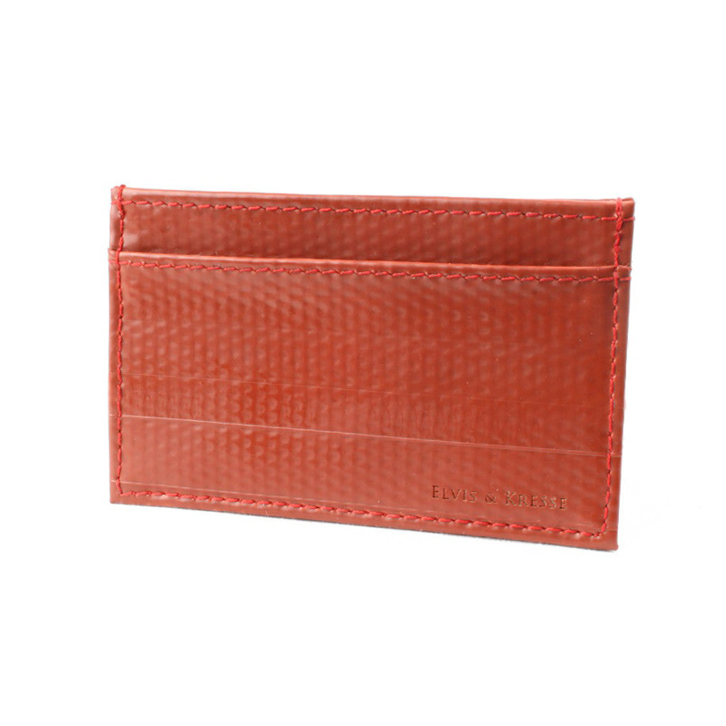 Fire-Hose Single Card Holder Wallet