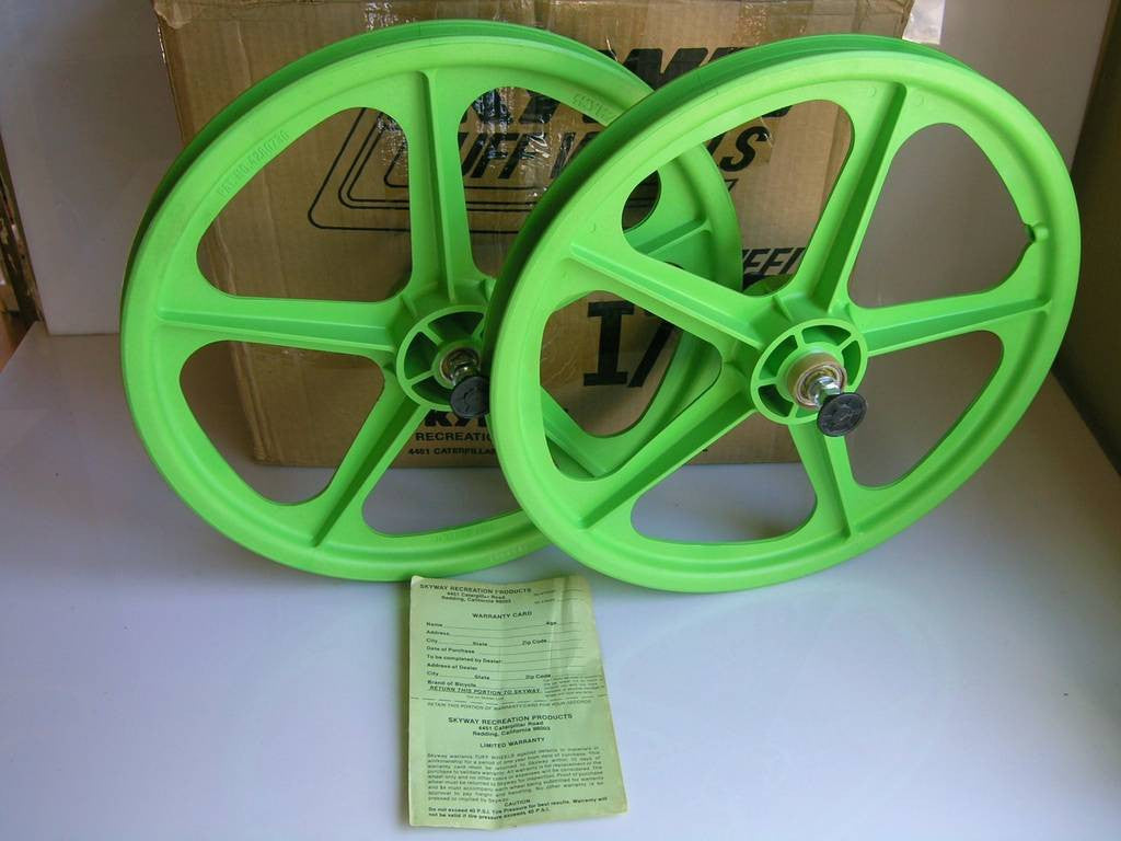 What type of Skyway Tuff BMX wheels do you have?