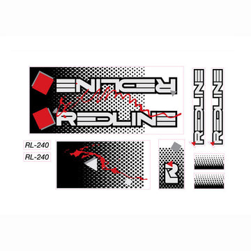 1994 Redline RL240 BMX decal set