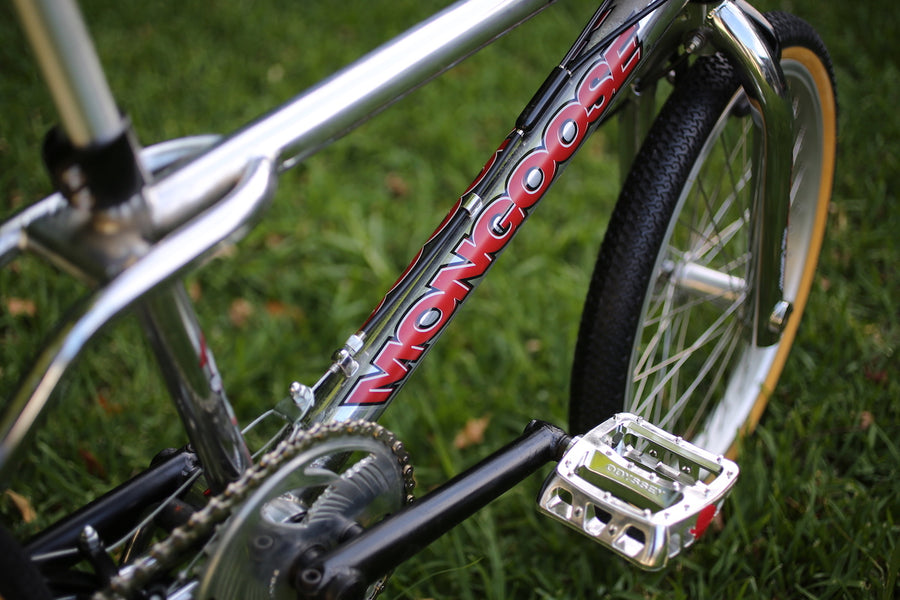 1998 Mongoose Rogue BMX restored complete