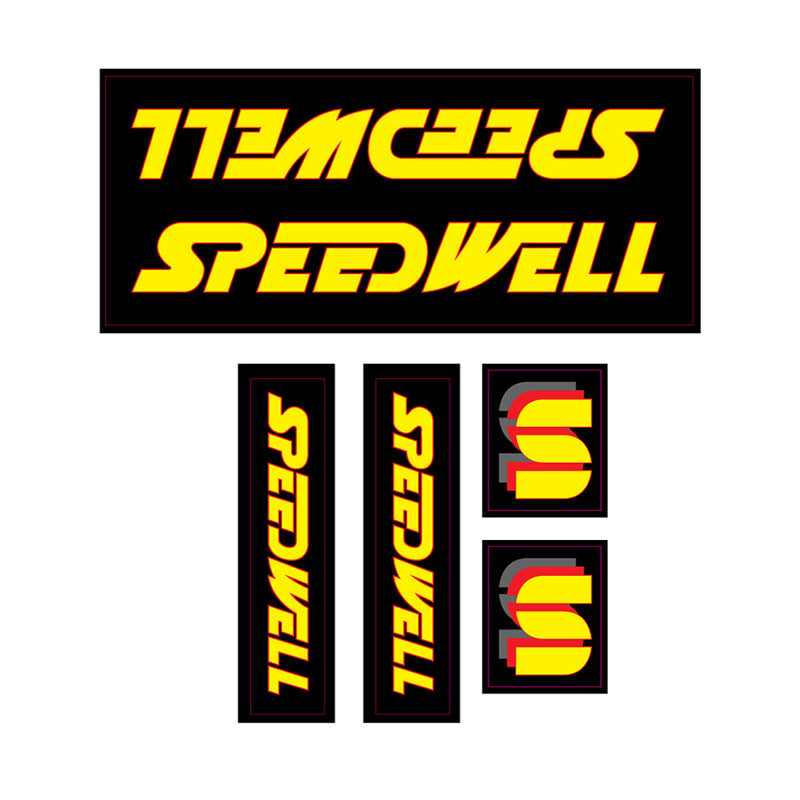 1985 Speedwell decal set BMX 6