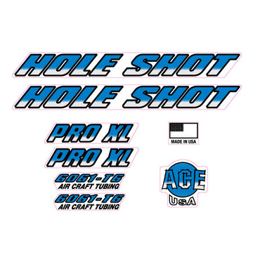 1994 Ace Hole Shot decal set BMX