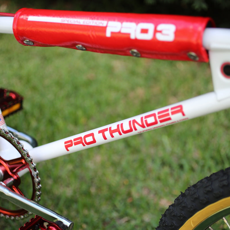 1982 Huffy Pro Thunder decal set for BMX 1