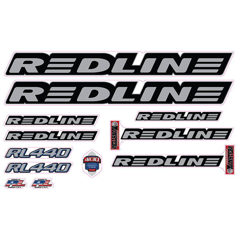 1999 Redline Rl440 Decal Set For Bmx Re Rides
