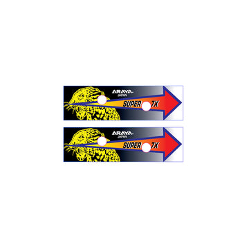 Araya Super 7x 'Tiger' 36H BMX rim decal set