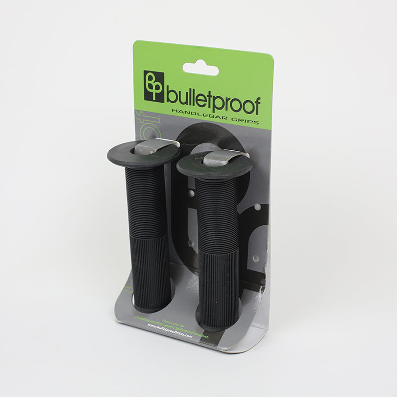 Bulletproof - black - flanged BMX grips 12