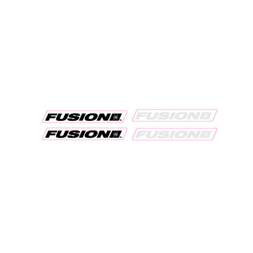 Haro Fusion 'block font' seat post decal set