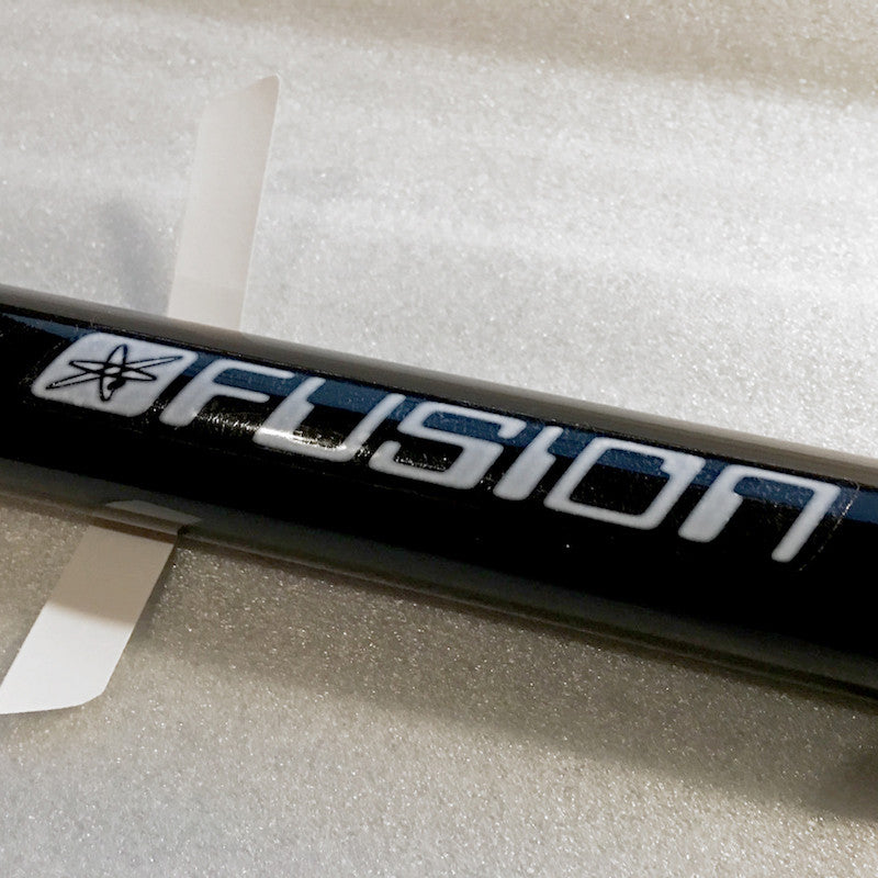 Haro Fusion 'computer font' seat post decal set 3