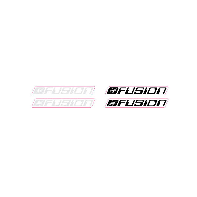 Haro Fusion 'computer font' seat post decal set 1